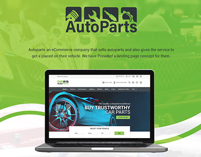 Autoparts an eCommerce company product platforms