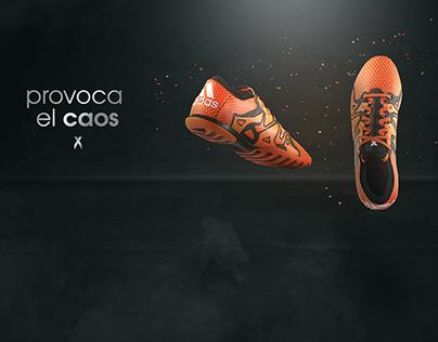 Adidas X15 Primeknit Advertisement