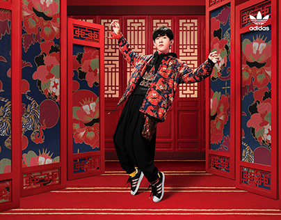 Photographer Ture Lillegraven for adidas China