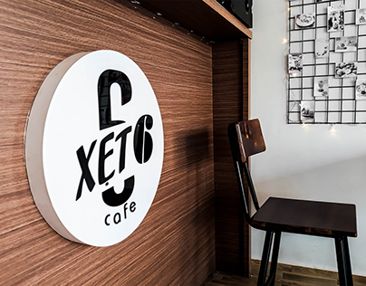 Xet 6 Cafe Branding