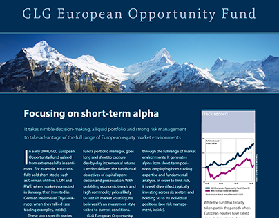 Hedge fund fact sheets