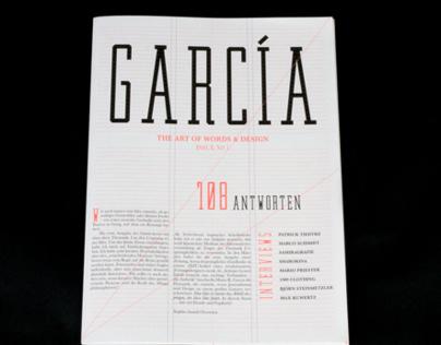 GARCÍA - The Arts of Words & Design