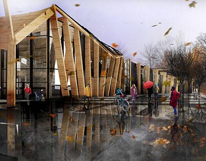 New Bus Station in Bielsk Podlaski