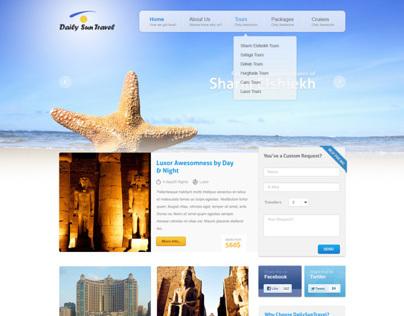 DailySunTravel - a Tourism Company