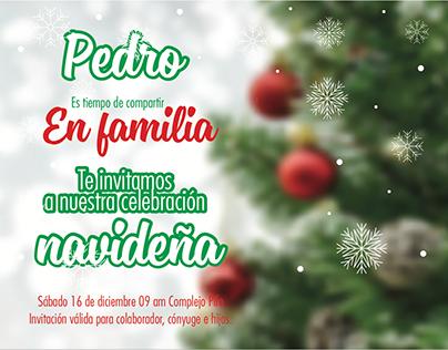 Diseño tarjetas Navidad