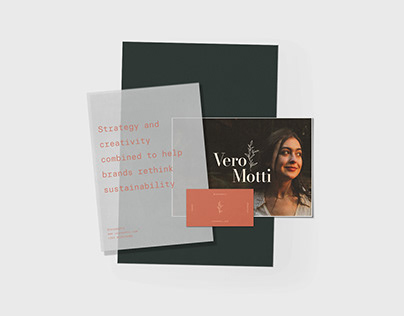 Vero Motti - Brand Identity & Website
