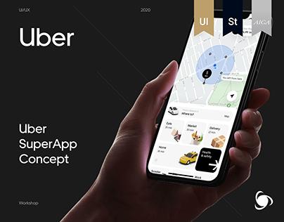 Uber Super App Concept | Case Study