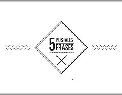 5 Frases, 5 Postales