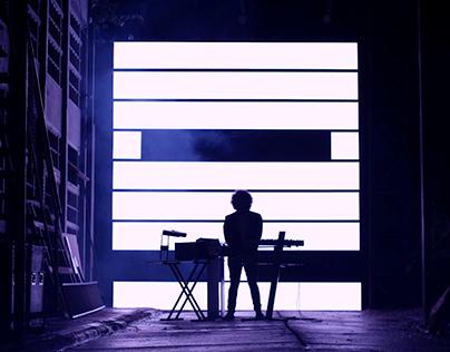 EUI - Eyes Go (Live Installation Lyric Video)