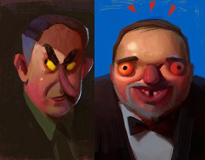 Ugly Israeli politicians