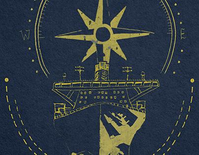 Seasonal Card for The Danish Maritime Authority