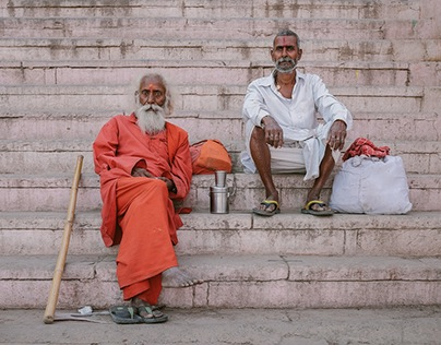 Indian Sadhus: Varanasi