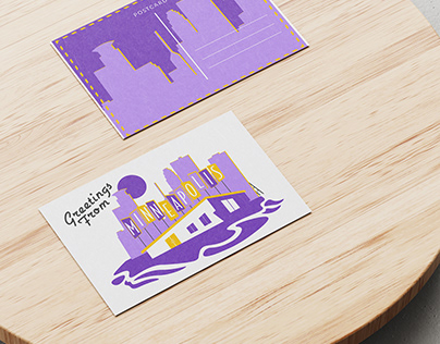 Minneapolis (Postcard Design)