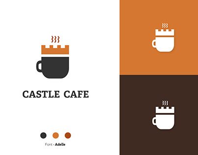 Castle Cafe Logo Concept