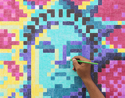 Faber-Castell Color Pixel Project