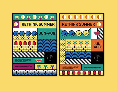 Dubai Design District Poster Series