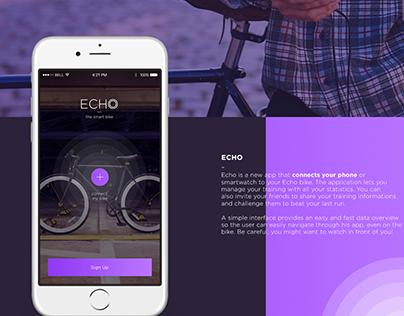 ECHO App - Smart Bike