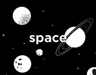SPACE / PatternPattern / Illustration