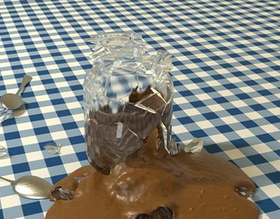 Breaking Chocolate Jar