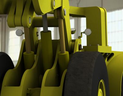 922 LHD - underground mining vehicle