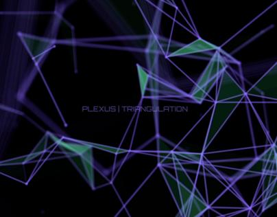 Plexus //Triangulation // VFX //Motion Graphics
