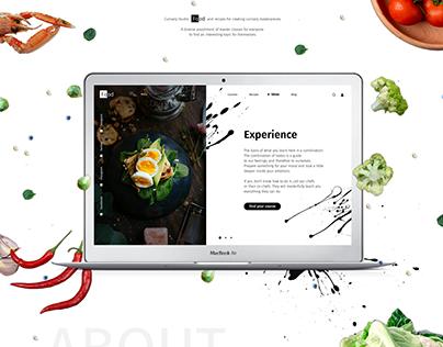 Culinary Studio Website