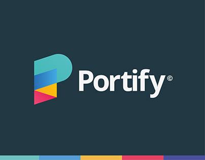 Portify - Finance App Logo Design.