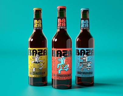 Illustrations for craft beer