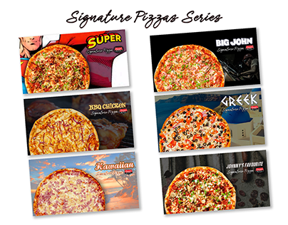Signature Pizzas Series
