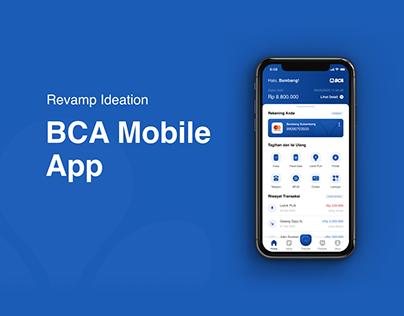 Revamp Ideation: BCA Mobile App