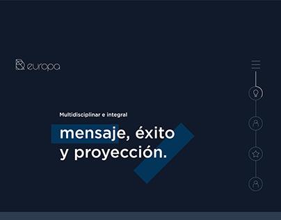 "Pagina Web ""Europa"""