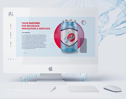 Beverage production website