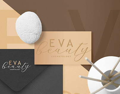 EVA beauty cosmetology branding.