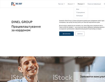 corporate website DINEL GROUP