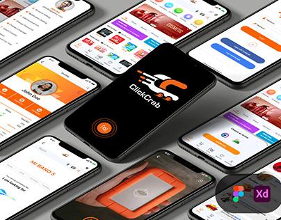 Clickcrab E commerce App
