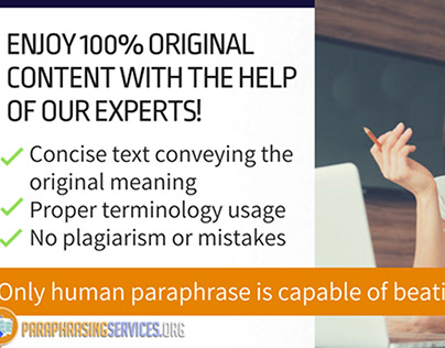 Paraphrasing Services on Behance