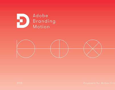 Adobe Experience Design Branding Motion