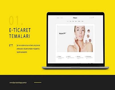 Wordpress Web Site Design | www.basricetinkaya.com.tr