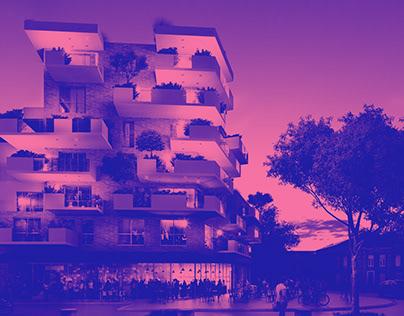 Wasquehal logements BDH archi