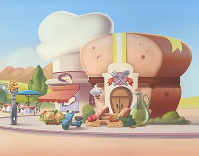 Disney Interactive / Kitchen Scramble - Bgs - Mozzaroma
