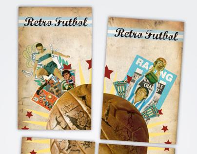 """Postales """"Retro futbol"""""""