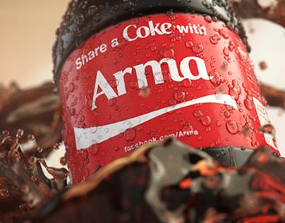 Share a Coke with ARMA