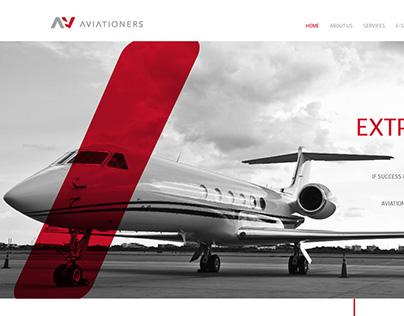 aviationers Brand identity