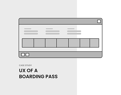 Designing a Boarding Pass for Accessibility & Usability
