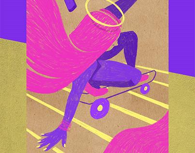 Concept Art - The Skater