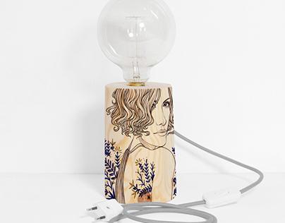 Woodamp Lamp