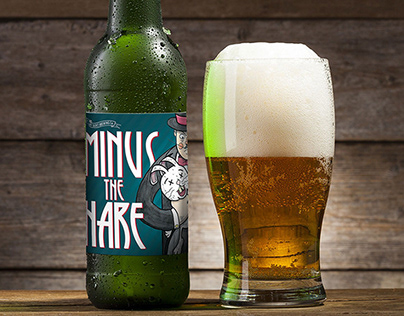 Minus The Hare Beer Label