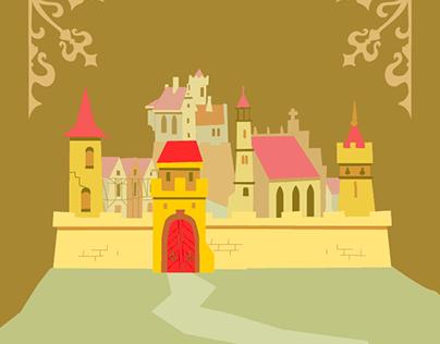My medival town / Moje średniowieczne miasteczko