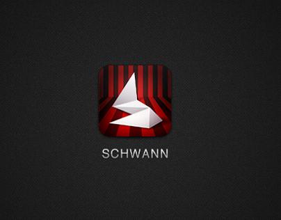 Schwann online brochure icons design