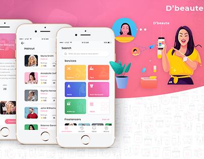 Salon App Development - D'beaute
